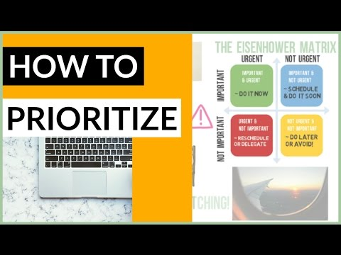 How to Prioritize Tasks Effectively: GET THINGS DONE ✔