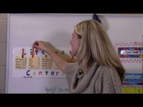 Literacy Centers: Promoting Literacy Independence in Kindergarten (Virtual Tour)