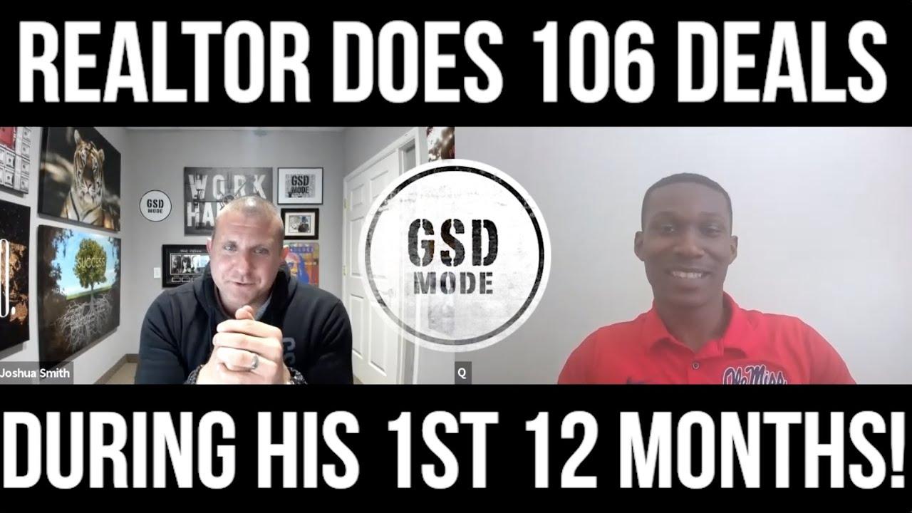 1st Year Realtor Does 106 Deals In 12 Months! (QUINTAVIUS BURDETTE INTERVIEW)