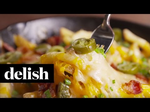 Loaded Cheese Fries | Delish