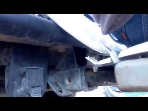 Homemade Trailer hitch toilet seat