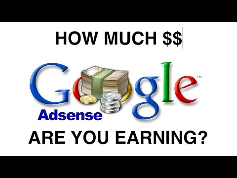 HOW TO TRACK EARNINGS WITH GOOGLE ADSENSE (2017)