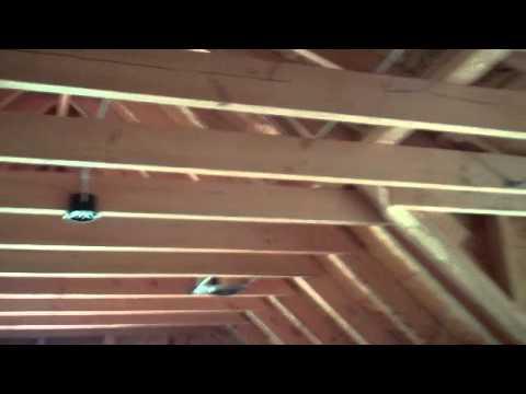Tims Ford Lake home Bonus room over garage Detail