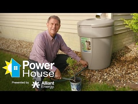 How to install a rainwater collection system