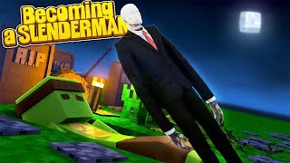 Minecraft - HOW TO BECOME SLENDERMAN