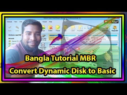 Windows Setup Problem How To Convert Dynamic Disk to Basic Bangla Tutorial MBR Basic