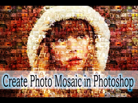 How to Create Photo Mosaic in Photoshop with very simple steps.