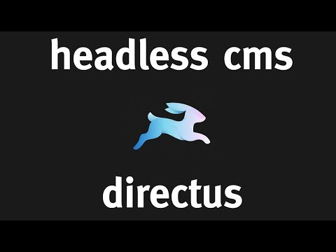 Directus - What's a Headless CMS?