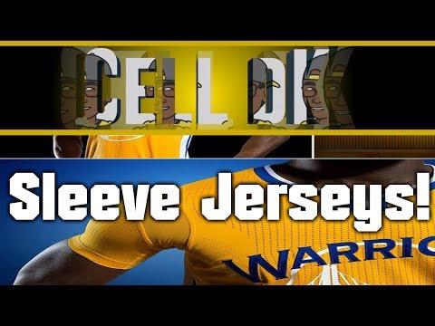 NBA 2k14 | New Sleeve Jerseys!