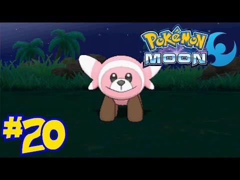 Pokémon Moon Episode 20 - Good Stufful Hunting