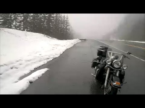 Riding in the Rain, First Motorcycle and Snow