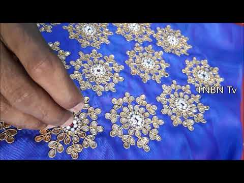 new blouse back neck designs for silk sarees | aari work blouse designs with price | maggam work