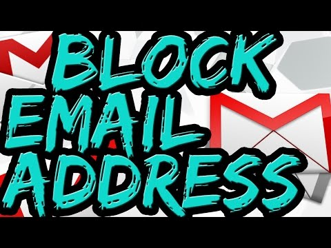 How To Block Email Address On Gmail | Block Spam Emails Properly 2016