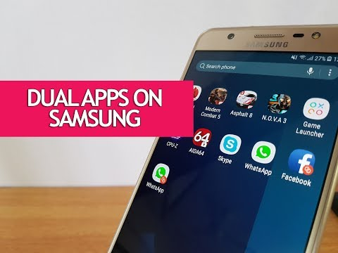 Dual Apps (Dual Messenger) on Samsung Galaxy J7 Max-  How to Use it?