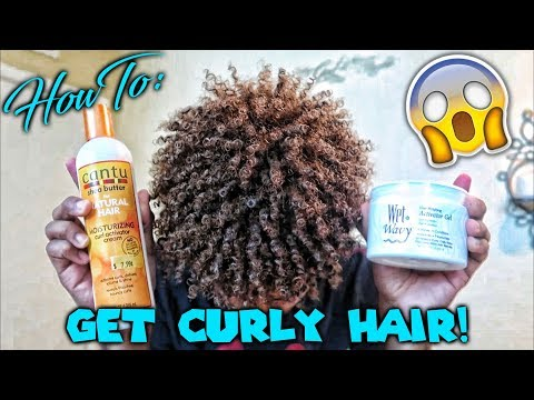How To: Get Curly Hair & Maintain Them🔥💦