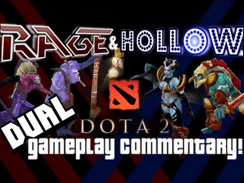 Dota 2 Gameplay - with Live Dual Commentary 4 - Windrunner
