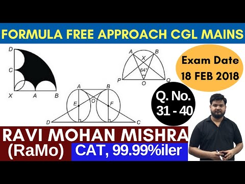 SSC CGL TIER-2 {2017} Mathematics Paper (18 Feb) Discussion Part-4 by RaMo  [99.99%iler in CAT]