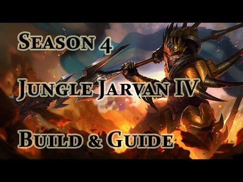 League of Legends - Jungle Jarvan IV Build / Guide - Season 4