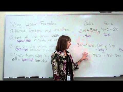 Solving Linear Literal Equations, Example 2