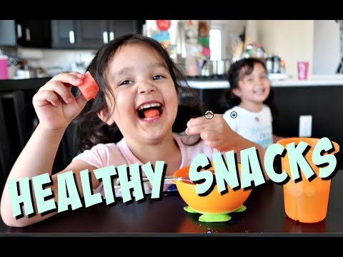 Getting Kids to Eat Healthy Snacks-  ItsJudysLife Vlogs