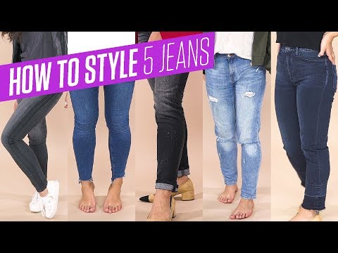 How To Style Skinny Jeans | Boyfriend, Girlfriend & High-Waisted Jeans