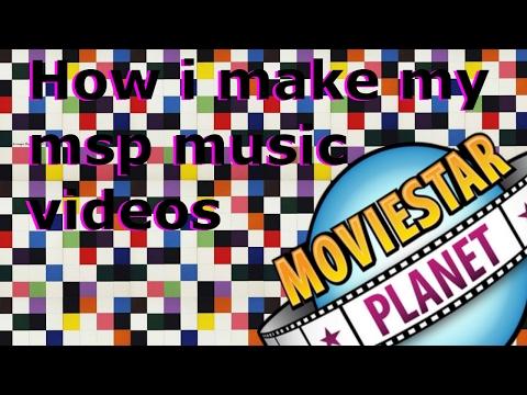 How i make my msp music videos!