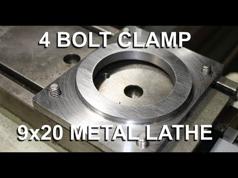 Grizzly G4000 9x20 4 Bolt Compound Clamp Mod