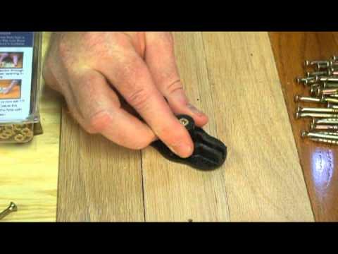Squeeeeek No More For Wood Floors Demonstration