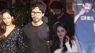 Shahid Kapoor, Kartik Aaryan, Ananya Pandey & John Abraham SPOTTED At Soho House