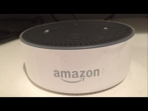 Amazon echo dot. How to play your music