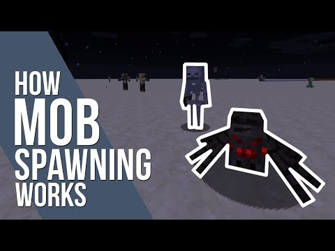 How Mob Spawning Works in Minecraft