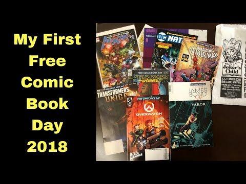 Free Comic Book Day - Comic Book Haul | 2018