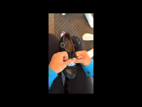 How to Buckle Your Hard Shoes