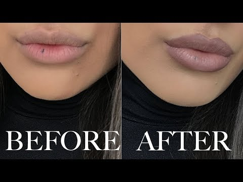 HOW TO MAKE YOUR LIPS APPEAR BIGGER USING MAKEUP
