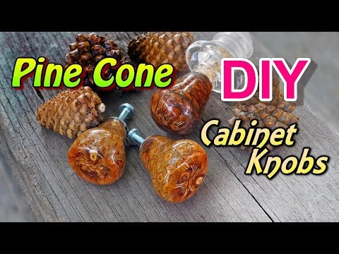 Pine Cone Cabinet Knobs!