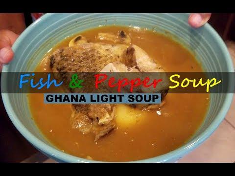 Prepare the BEST Fish Pepper Soup | Light Soup