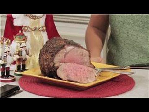 Christmas Holiday Treats : How to Make a Prime Rib Roast