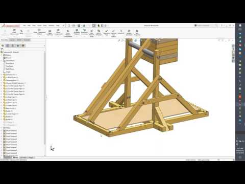 How SOLIDWORKS Simulation Can Drive Your Trebuchet Design and Produce Striking Results