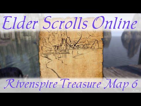 Rivenspire Treasure Map 6 [Elder Scrolls Online] ESO