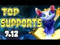 TOP 5 SUPPORTS Tier List Patch 9.12