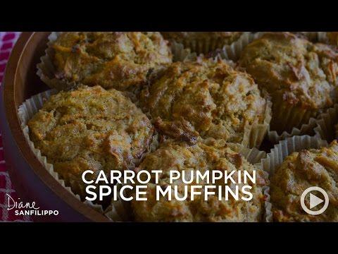 Easy Recipe: Carrot Pumpkin Spice Muffins