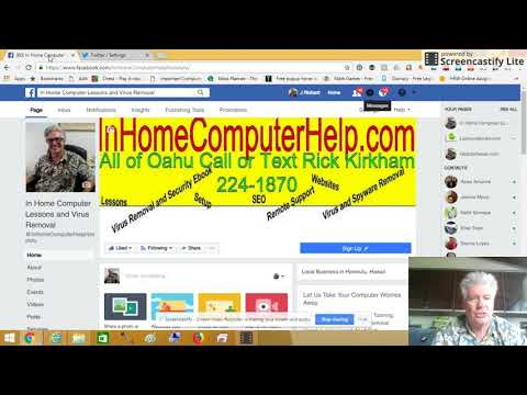 Video   How to Automatically Send Your Tweets to Facebook by InHomeComputerHelp com
