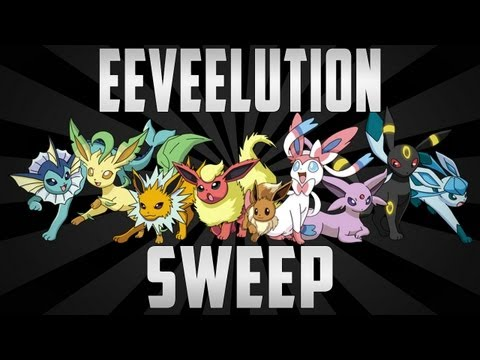 Eeveelution 6-0 Sweep #2! Pokemon Black and White 2 Wifi Battle #14