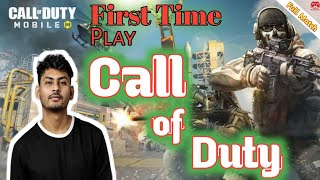 """Dynamo Gaming play """"Call of Duty Mobile"""" first time 