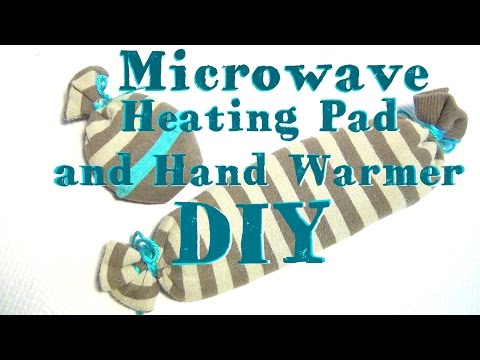 DIY Microwave Heating Pad and Hand Warmers ♥ Without a Sewing Machine!