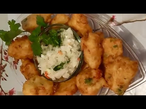 Belize conch fritters