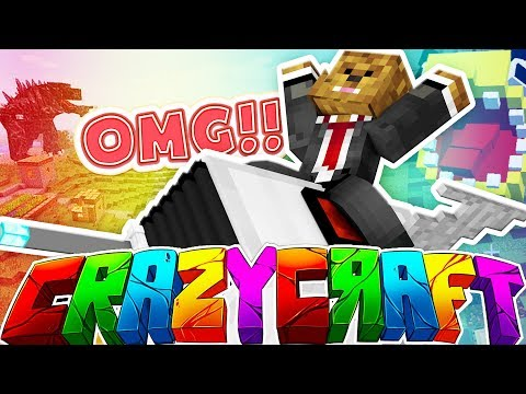 THESE ITEMS ARE CRAZY!! - MINECRAFT'S OLDEST MOD PACK CRAZY CRAFT SURVIVAL #4