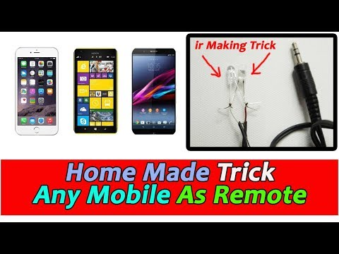 IR Transmitter for iOS & Android | Home Made infrared For Your Mobile