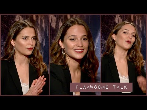 Alicia Vikander On The Pain (Work Outs) And Muscles For Becoming Lara Croft -  TOMB RAIDER
