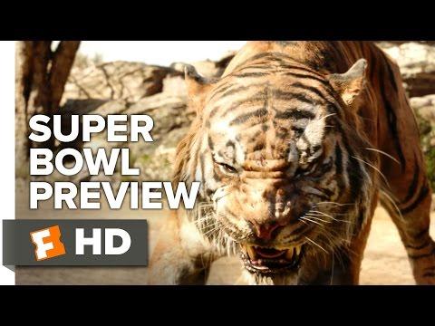 The Jungle Book Official Super Bowl Preview 2016 -  Scarlett Johansson, Idris Elba Movie HD